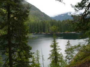 Lower Lena Lake, Olympic Range
