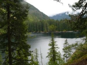 Lower Lena Lake, Olympic Range